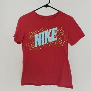 5/$25 | Nike Tee Boys Youth Shirt Size Medium Red